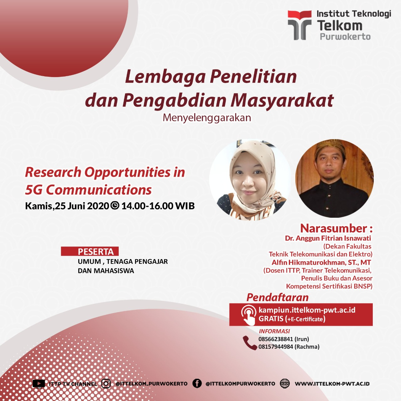 Research Opportunities in 5G Communications