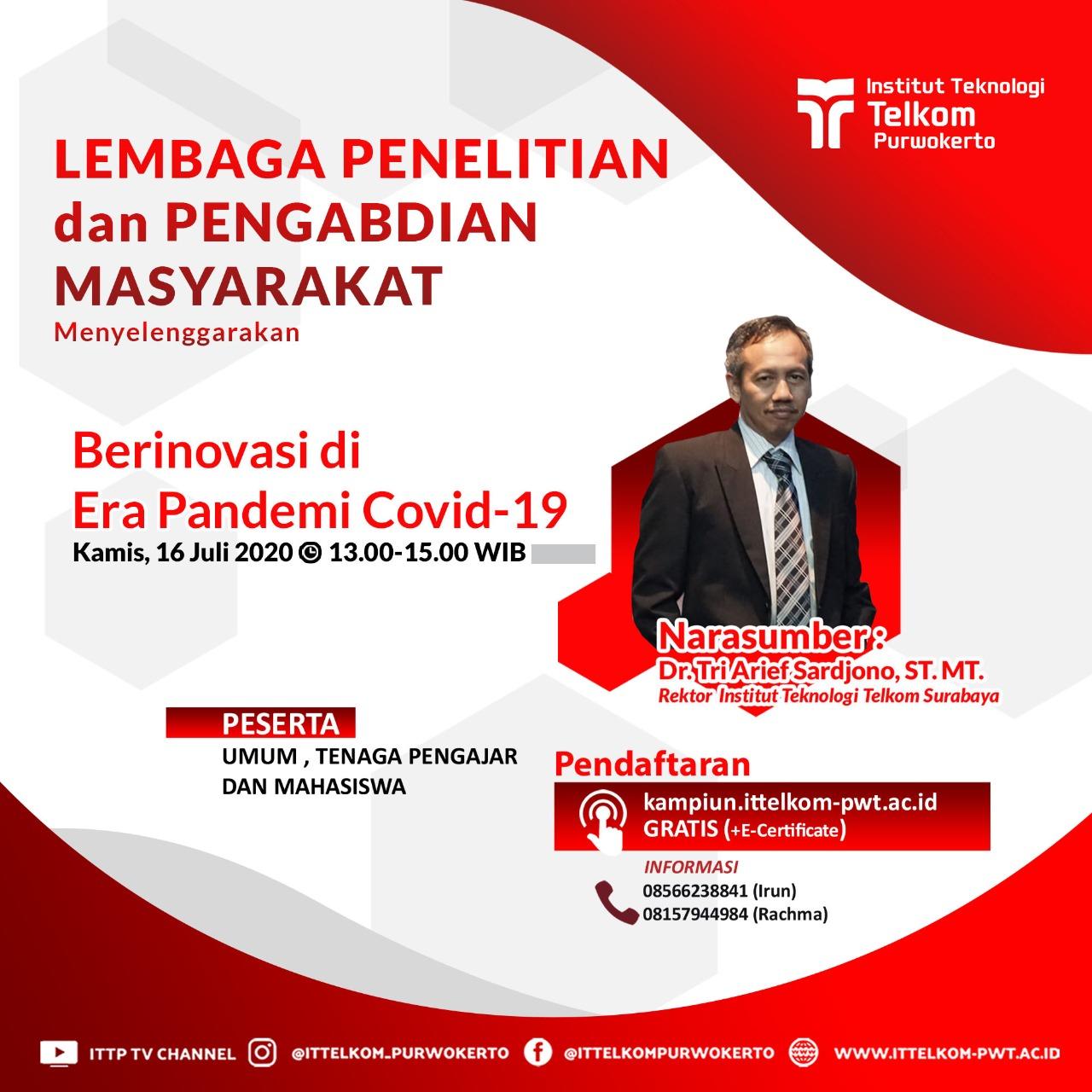 Berinovasi di Era Pandemi Covid-19