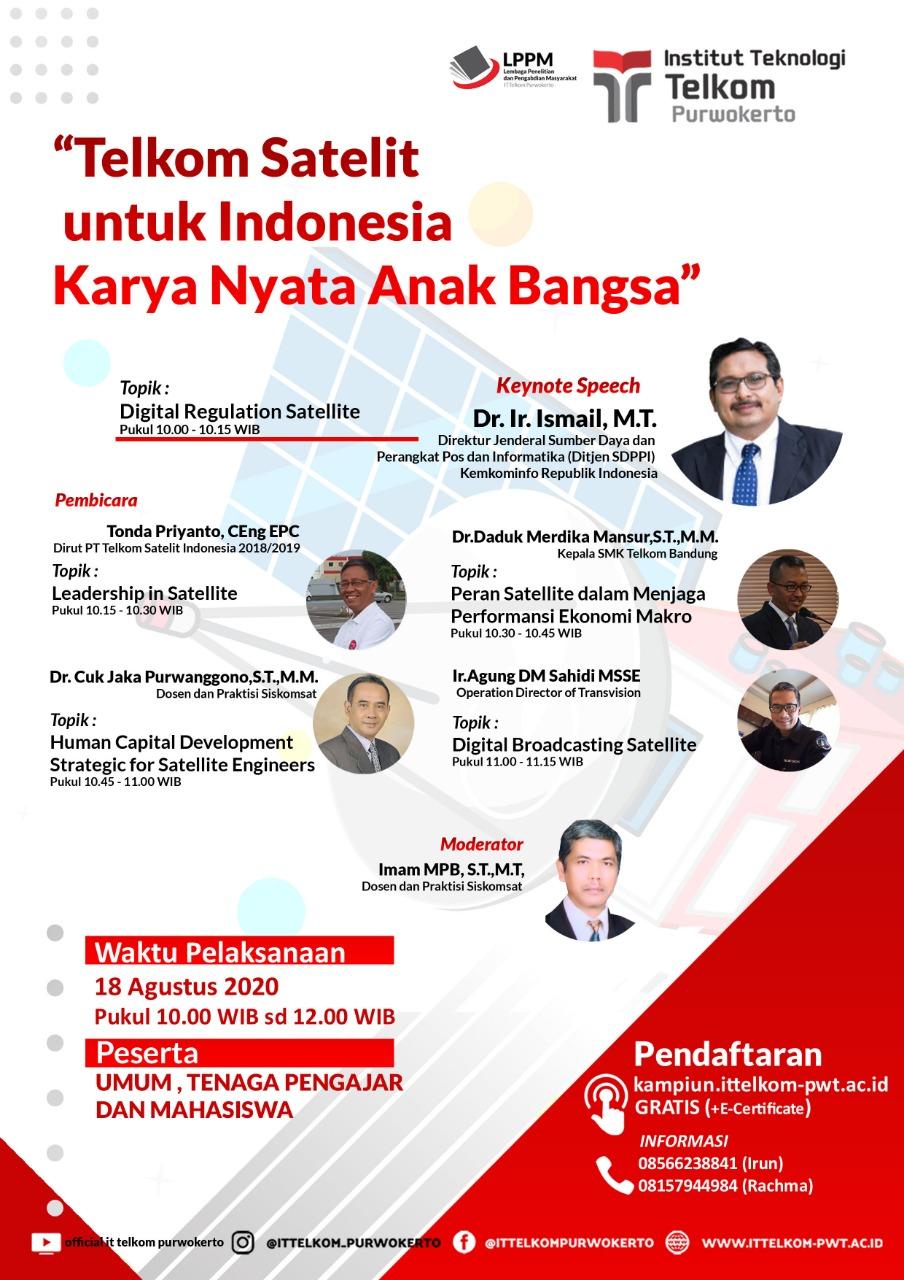 Telkom Satelit untuk Indonesia, Karya Nyata Anak Bangsa